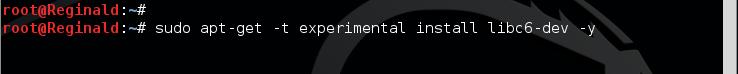 15.4 - libc6 install kali