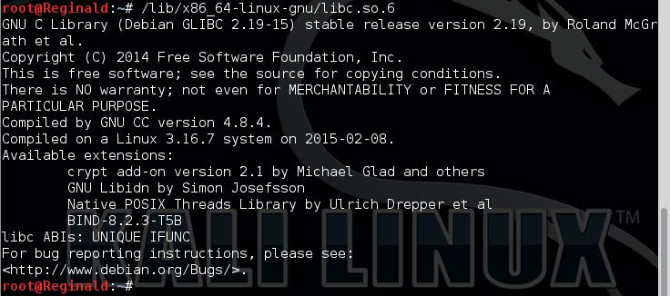 15.5 - libc6 installed check