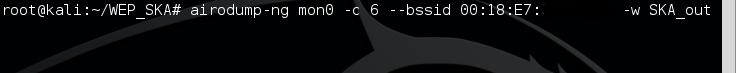2 - airodump-ng write