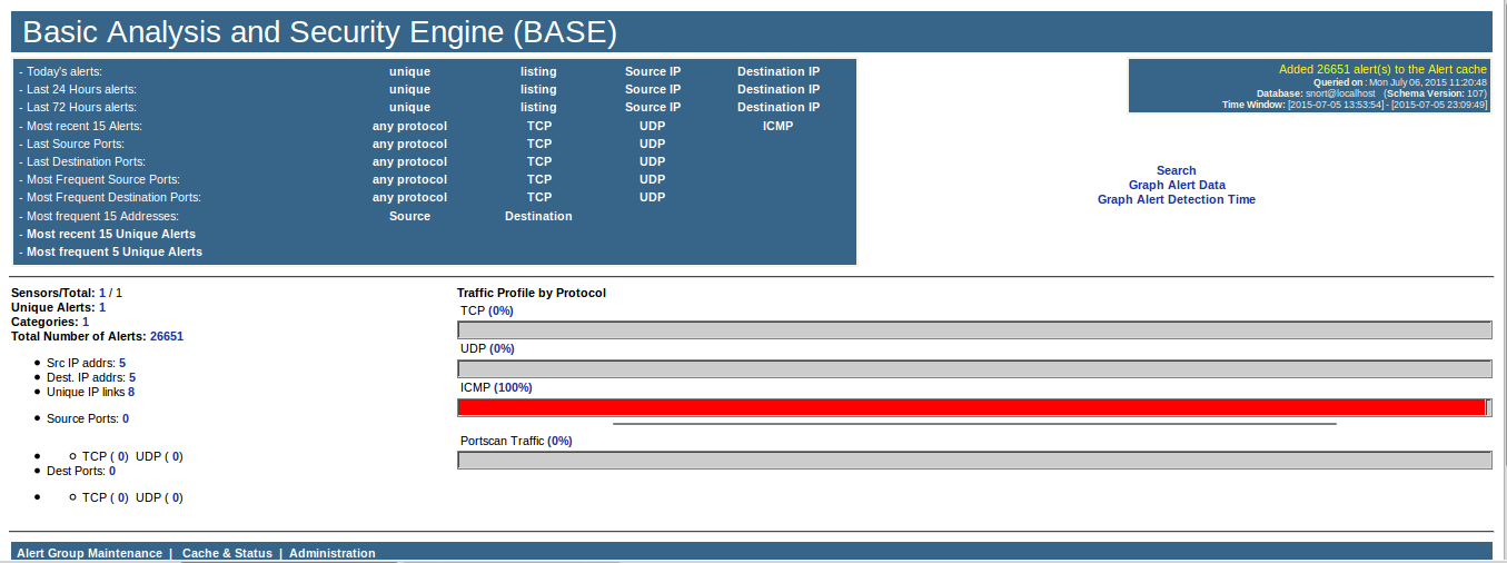 128 - Base main page