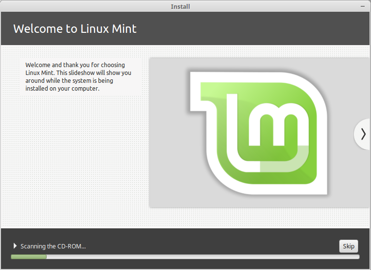 23 - Linux Mint installing