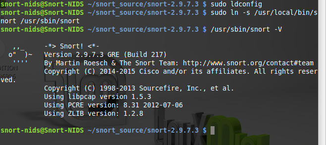 36 - Install snort from source 6