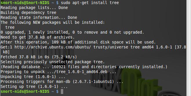 38 - Install tree