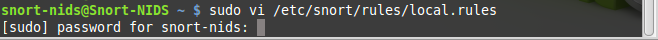 48 - Testing snort ICMP local rule
