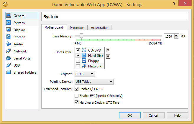 7 - DVWA remove floppy move disks