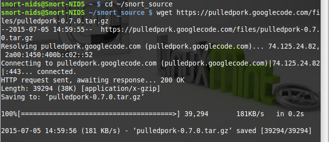 82 - cd and wget pulled pork