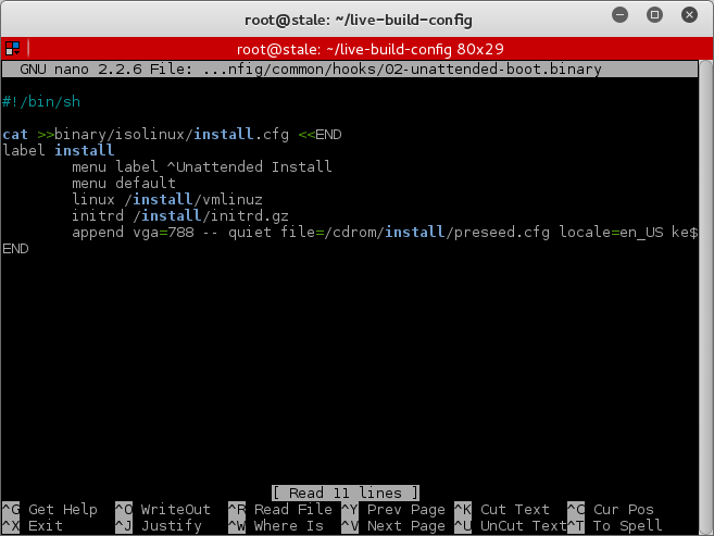 8_Kali_Sana_Unattended_File_Configuration_Created