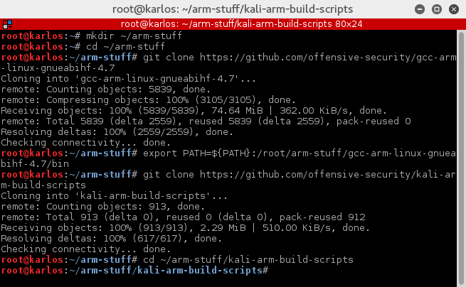 kali linux download for raspberry pi