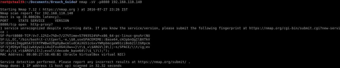 38_Breach_1.0_boot2root_CTF_nmap_service_detection_port_8080