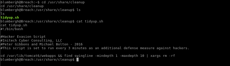 54_Breach_1.0_boot2root_CTF_tidyup_script