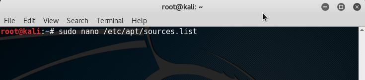 20_Kali_Linux_2.0_VirtualBox_modify_apt_sources_list