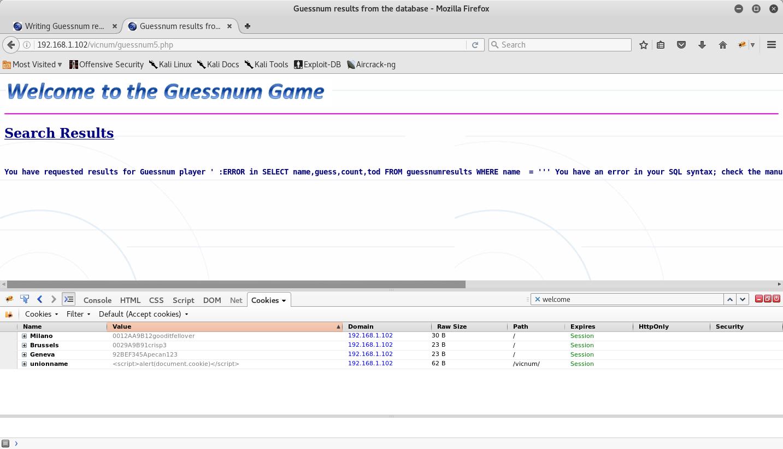 21_Vicnum_SQL_Error_Output