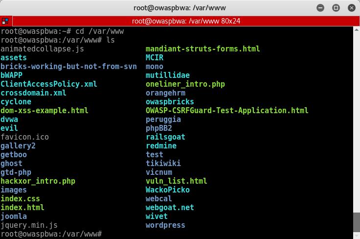 35_Vicnum_OWASP_BWA_web_directory