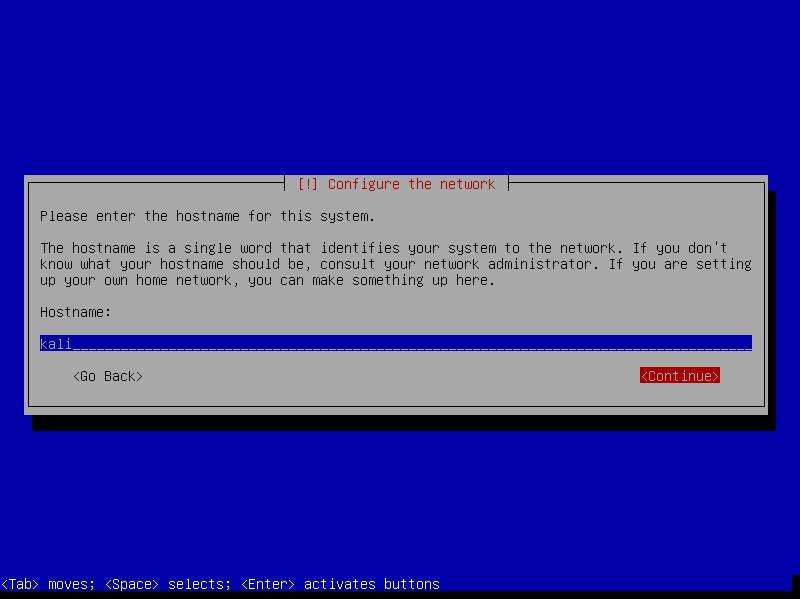 5_Kali_Linux_2.0_VirtualBox_Install_enter_a_hostname